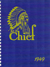 Banks Union Oregon High School Yearbook 1949 Chief