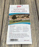 2006 - 2008 AAA National Capital Area Map Special Area Series Annapolis Luray