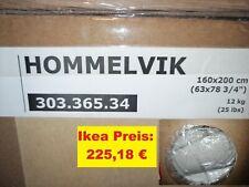 Ikea BEZUG für HOMMELVIK 160x200 Boxspringbett Risane natur NEU OVP 303.365.34