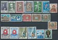 1963 ITALIA USATO ANNATA 19 VALORI - ED06