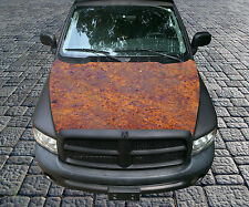 H114 RUST RUSTY RUSTED Hood Wrap Wraps Decal Sticker Tint Vinyl Image Graphic