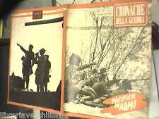 SECONDA GUERRA MONDIALE Donetz Giappone Africa Sidney Saratov fronte russo lotta