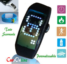 iWatch Computer 3D Pedometro ContaPassi Calorie Usb 8Gb TouchScreen Pc Win Mac