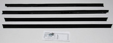 1975-1976 Cadillac ElDorado Convertible Repops Window Felt Weatherstrip Kit 4pc