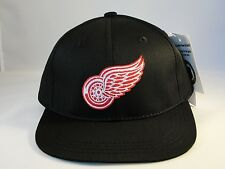 Toddler Size NHL Detroit Red Wings Black Vintage Hat Cap Adjustable Strap Annco