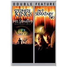 PET SEMETARY/PET SEMETARY TWO (DVD, 2013, 2-Disc Set) NEW