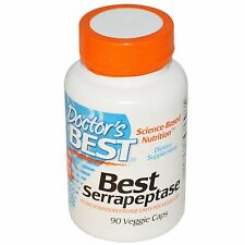 Serrapeptase - 90 Vcaps by Doctor's Best - Proteolytic Digestive Enzyme