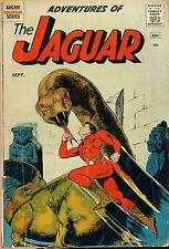 ADVENTURES OF THE JAGUAR #1 (1961) Archie Comics VG/VG+