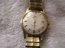 Vintage Belforte Shock Absorber Watch 17 Jewels Date