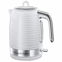 Schnellkochfunktion 2400W 1,7l Russell Hobbs Wasserkocher Inspire weiss opti
