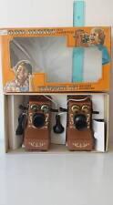 OLDIES TELEPHONE SET TELEFONI  VINTAGE TOYS FONDO DI MAGAZZINO