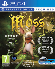 Moss VR Sony PlayStation Ps4 Game - 7 Years