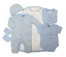 Baby boys clothes 5 piece set train baby grow layette 0-3 3-6 months