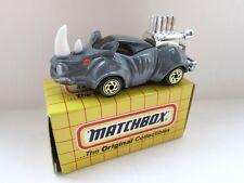 MATCHBOX SUPERFAST 53 H Rhino Rod-Grigio chiaro-Nuovo di zecca/in Scatola