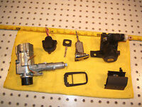 Mercedes W202 95 C220 ignition Assembly / Glove B,driver door,trunk Locks &1 Key