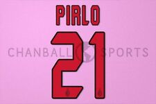 Pirlo #21 2004-2007 AC Milan Awaykit Nameset Printing
