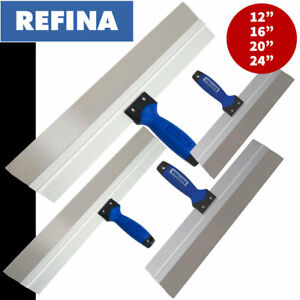 """Refina Skimming Spatula - Stainless Steel Blades - 12"""" or 16"""" or 20"""" or 24"""""""