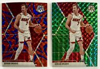 2019-20 Mosaic Goran Dragic Blue Reactive and Green Prizm Refractor Lot SP Heat