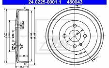 2x ATE Bremstrommeln für BMW 3er-Reihe 24.0225-0001.1 - Mister Auto Autoteile