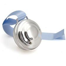 Zilveren speeldoos filet met een opwindsleutel