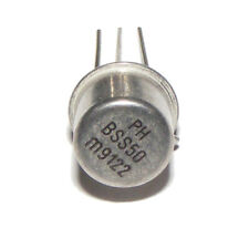BSS50 NPN Darlington transistor TO-39 Philips