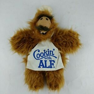 """1988 """"Cookin' with ALF"""" PUPPET Burger King Promo 11"""" Chef 80's Alien Sitcom Star"""