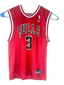 Ben Wallace Chicago Bulls Reebok Men's Home Spell Out Jersey Size Large 🔥