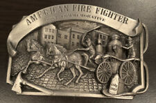 Arroyo Grande Buckle Co. 1984 Commemorative American Fire Fighter Buckle