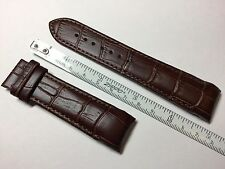 AUTHENTIC TISSOT COUTURIER NEW 23MM BROWN GENUINE LEATHER STRAP BAND BRACELET