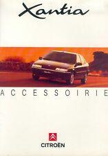 Citroen Citroën Xantia Accessoires Prospekt NL 2/93 car brochure 1993 Auto PKWs