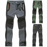 Mens Camping Trousers Fishing Hiking Climbing Work Sports Outdoor Pants