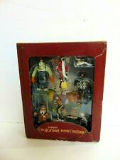 Tim Burton's The Nightmare Before Christmas Storybook Ornament Set NRFB RARE!