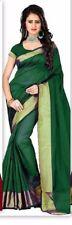 Designer Bollywood saree indian pakistani kanchivaram silk sari traditional pure