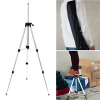 Adjustable Carbon Tripod 95/115/145cm Aluminum With 5/8 Adapter For Laser