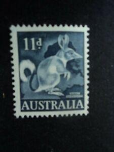 Australia mint stamp 1961 Rabbit bandicoot 11d