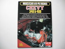 CHEVY 348-409 DATA BOOK- NEW, FREE SHIPPING!!!!! - UNRESERVED!!