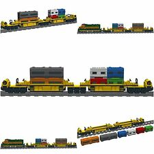 Lego Custom FREIGHT CAR Wagon No.3 - similar 10170 TTX - INSTRUCTIONS ONLY!!