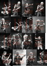 25 DIFFERENT 4X6 PHOTOS OF JUDAS PRIEST IN CONCERT