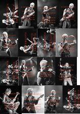 25 DIFFERENT 4X6 PHOTOS OF JUDAS PRIEST IN CONCERT
