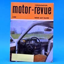 DDR Motor-Revue 3-1980  (tschechoslowakische) Skoda Jawa CZ Tatra Rallye III