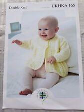 UKHKA 165 BABY CARDIGAN AND MATINEE PATTERN