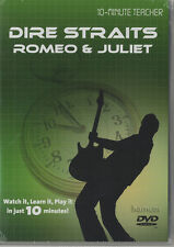 Dire Straits Romeo & Juliet Guitar Tuition DVD 10 Minute Teacher Mark Knopfler