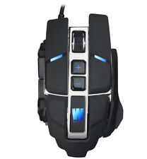 Maus Gaming PC USB Ergo Mouse 4000 DPI RGB anpassbar Notebook Laptop Office