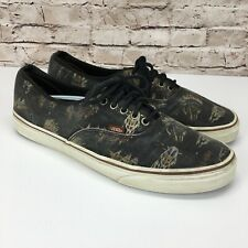 Vans Men's Size 13 Indian Chief Print w/ Cow Heads Tribal Shoes Sneakers RARE