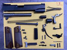 "1911 45 5"" Pistol Parts Kit - Slide, Barrel, Trigger. Many Sig and Wilson Parts"