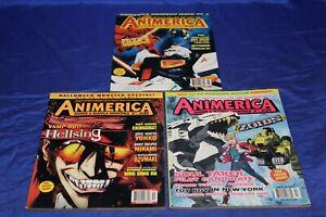Animerica (1992) April Aug Oct 2002 Anime & Manga News Articles Toys Posters NM