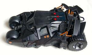 Batman Begins Batmobile Tumbler. Mattel Hi387. Lights, sounds, fully working.