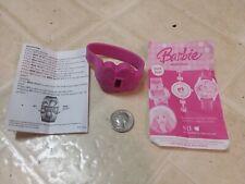 ONE NIP 2007 Kellogg's Pink Barbie LCD Digital Watch Mattel, Inc.