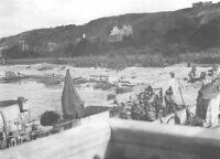 7x5 Lucido Foto ww8AA Normandia D-Day Omaha Spiaggia Vierville Sur Mer 1944