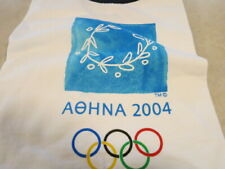 RARE NWT NEW Athens [AOHNA] 2004 Olympic Souvenir T Shirt XL  100 % cotton